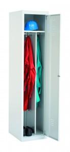 Kleiderspinde ,it Mittel- Trennwand, Kleiderstange